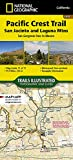Pacific Crest Trail: San Jacinto and Laguna Mountains [San Gorgonio Pass to Mexico] (National Geographic Topographic Map Guide (1012))