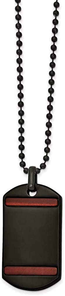 Price sold out reduction Ryan Jonathan Fine Jewelry Stainless Black Steel Ion with Plated