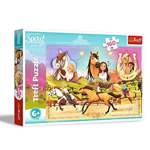 Trefl Puzzle 160 Spirit Riding Free Trzy Przyjaciólki