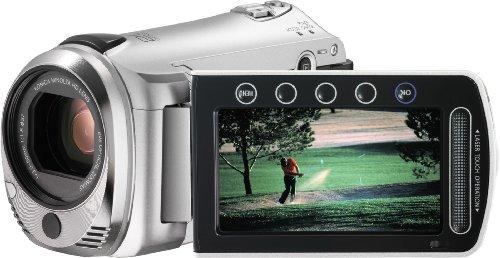 JVC GZ-HM300SEK Everio HD Camcorder with Dual SD/SDHC Card Sl