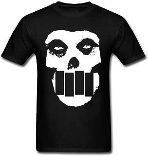 LSLEEVE Men's Band Black Flag Logo T-shirts