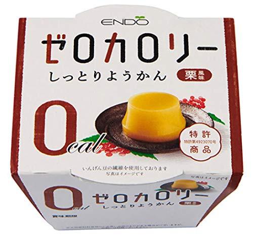 遠藤製餡『Nゼロカロリー しっとりようかん栗風味 6個入』