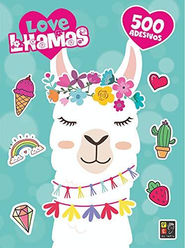 Love Lhamas 500 Adesivos