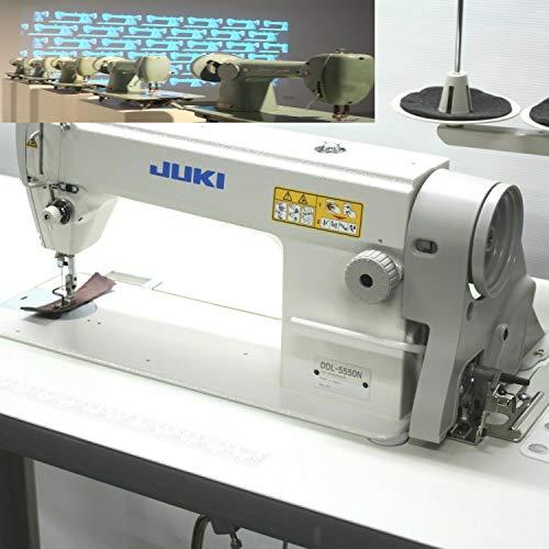 Juki DDL-5550 LockStitch Industrial Sewing Machine + chair, table,servo motor,lamp,DDL5550n Made in Japan DIY