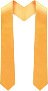 Adult Plain Graduation Stole 60'' long