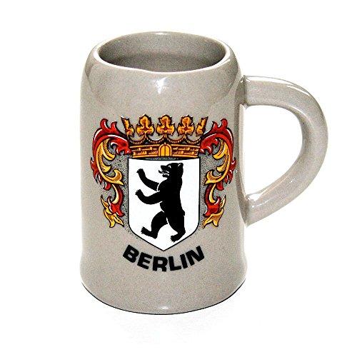 City Souvenir Shop Stamperl Wappen Berlin Miniatur-Bierkrug (Schnaps-Glas)