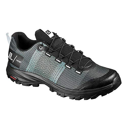 SALOMON Shoes out W/Pro, Zapatillas de Trekking Mujer, Multicolor (Sky Blue/Black/White), 38...