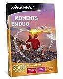 Wonderbox - Coffret cadeau en duo - MOMENTS EN DUO – idée cadeau- 3300 activités à partager