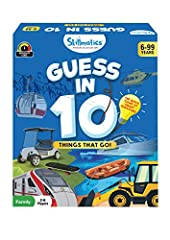 EXCITING GAME OF QUESTIONS - Ask up to 10 questions to guess the mode of transport on the Game Card! Does it have more than 2 wheels? Does it have an engine? Is it a land vehicle? Think hard, ask intelligent questions, use your clue cards wisely, and...