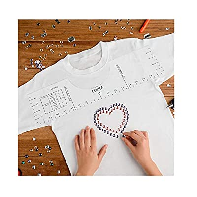 Amazon - Save 80%: T-Shirt Alignment Tool of Transparent Vinyl for Guiding T-Shirt Design, F…