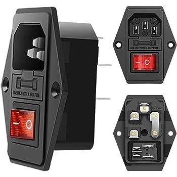 Pack of 2 19200030727 Heavy Duty Power Connectors 3A CBL TO CBL M20 BLACK PLASTIC 1 LVR,