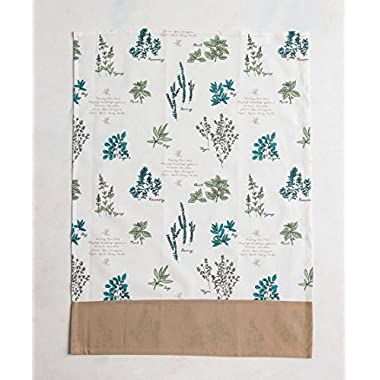 Mayfair Linen 100% Cotton Set of 2 Kitchen Towels, 20 - inch by 27.5 - inch by VERDURE COLLECTION