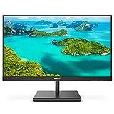 Philips Computer Monitors 241E1S 24' Frameless Monitor, 1920x1080 Full HD IPS, 106% sRGB, 75Hz, FreeSync, VESA, 4Yr Advance Replacement, Black