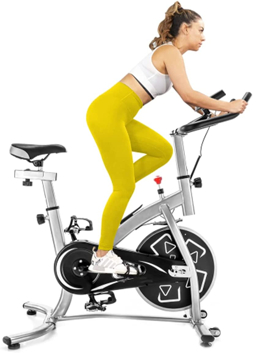 YUESUO The Spin Bike Max 50% OFF is Equipped with for Mo Easy Genuine Free Shipping Display LCD an