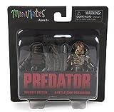 DIAMOND SELECT TOYS Predator Series 1 Muddy Dutch & Battle Cry Predator Minimates