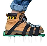 Kitclan 4 Riemen Rasenlüfter Schuhe