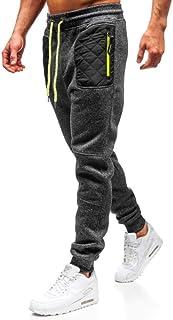 BOLF Hombre Pantalón De Chándal Pantalón de Algodón
