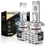 Briteye Bombillas H7 LED Coche 6500K Blanca DC 12V/24V Luces LED H7 KIT (2pcs)
