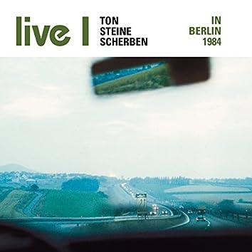 Live I - In Berlin 1984