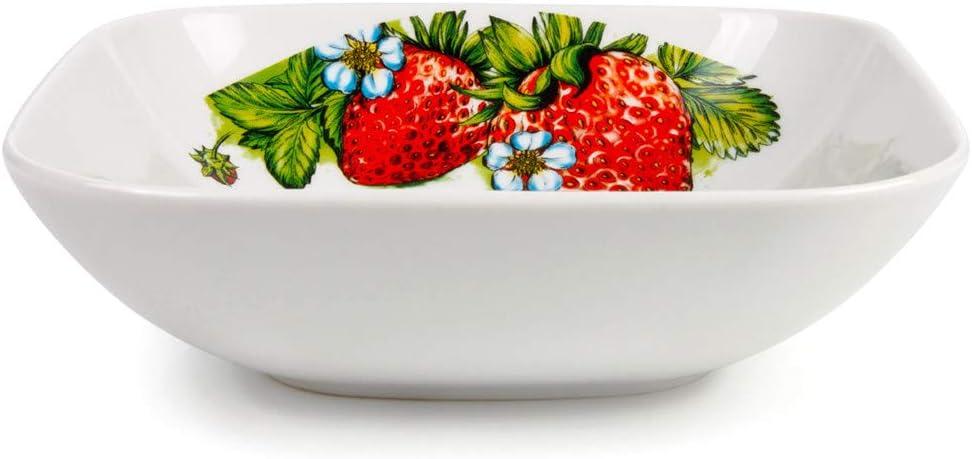 Max 61% OFF Dinnerware Serving Bowl Strawberry Print oz 35.2 fl K Salad Super beauty product restock quality top!