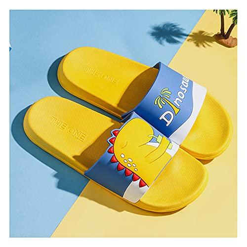 Sandalias Deslizantes Unisex Adulto, Para Mujer Zapatillas Casa Hombre Verano Pantuflas de baño, Chanclas de Masaje/A / 36/37