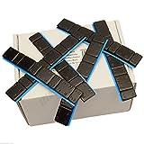 25 Riegel SCHWARZ Auswuchtgewichte 5g*4+10g*4 Klebegewichte Kleberiegel
