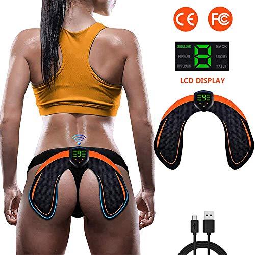 ZHENROG Electroestimulador Muscular Gluteos,EMS Gluteos Estimulador de Glúteos Herramientas Nalgas HipTrainer para la Cadera,Estimulador Muscular Ejercitar Gluteos USB Recargable, Hombre y Mujer
