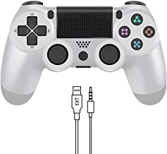 $32 » YCCTEAM Wireless Controller for PS4 - Video Game Precision Control Gamepad Joystick for Playstation 4/Pro/Slim (White)