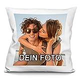 PhotoFancy - Kissen mit Foto Bedrucken - Fotokissen selbst gestalten (Fotokissen 40 x 40 cm)