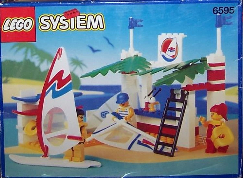 LEGO System Freizeit 6595 Windsurfer-Schule