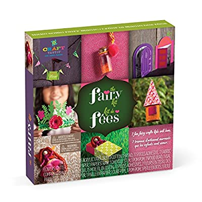 Craft-tastic – The Fairy Kit – Craft Kit Makes 7 Fairy-Themed Projects