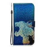 Tosim Coque Galaxy A6+ (A6Plus) 2018 Cuir PU Etui Flip Case Housse Portefeuille avec Porte Carte Support et Fermeture Magnétique pour Samsung Galaxy A6+ (2018) - TOTXI150111 T7