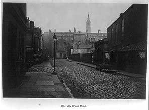 Photo: Glasgow,Scotland,Low Green Street,1870s,Thomas Annan