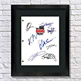 The Big Bang Theory TV Cast Autographed Signed Reprint 8.5x11 Script Framed 13x15 Jim Parsons, Johnny Galecki, Kunal Nayyer, Simon Helberg, Kaley Cuoco, Melissa Rauch, Mayim Bialik