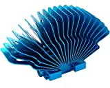 Zalman ZM-NBF47 Conjunto de Chips - Ventilador de PC (Conjunto de Chips, Azul, Aluminio, 57 g, 37 x 81 x 47 mm)