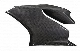 Ducati 899 1199 S/R Panigale Tricolore Carbon Fiber Fibre Upper Side Fairing Panels