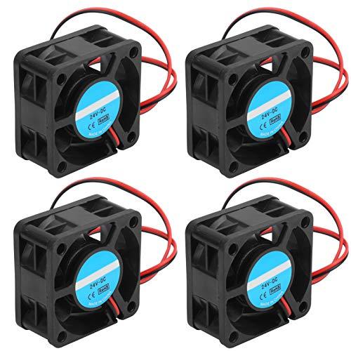 Pwshymi Diseño de Ventilador único Ventilador de enfriamiento sin escobillas Conveniente Buena disipación de Calor Ventilador de enfriamiento 4020 para Mejorar el Flujo de Aire Enfriar la CPU