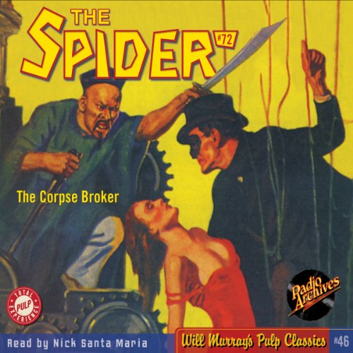 Spider #72 September 1939 (The Spider) audiobook cover art