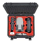 MC-CASES Kompakt Koffer für DJI Mavic Mini und Zubehör – Für Flymore Kombo ohne Propellerschützer – Wasserdicht - Sehr robust – In Deutschland hergestellt