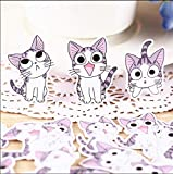 32pcs Creative Cute Selbstgemachte Sweet Cat AufkleberScrapbooking Aufkleber/Dekorative...