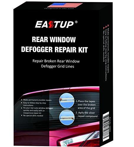 EASTUP Heckscheiben-Defroster-Reparatur-Set, repariert gebrochene Defogger-Gitterlinien, nur zwei Schritte, keine besonderen Fähigkeiten erforderlich.