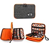 Jelly Comb Kabel Organizer Tasche, Elektronik Organizer Reise Kable Tasche für Kable, Handy,...