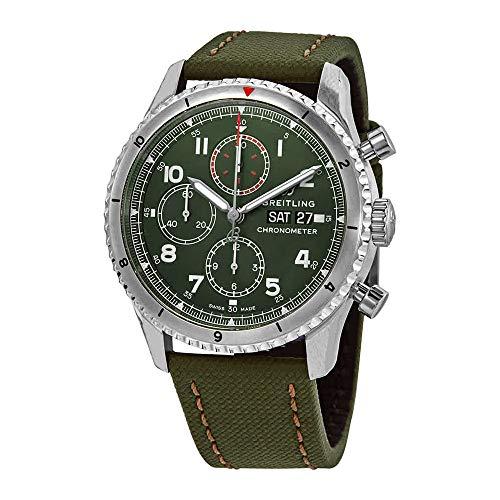 Breitling Aviator 8 Cronógrafo 43 Curtiss Warhawk Reloj para Hombre