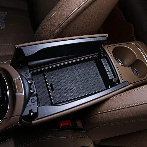 Accessoires de Voiture de boîte de Rangement d'accoudoir de Centre de Gant intérieur en Plastique ABS pour la Classe E W213 2016-2018