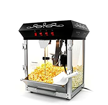 Paramount 6 Oz Popcorn Maker – Newly Upgraded Features Hot Oil Popper