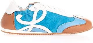 LOEWE Luxury Fashion Womens 453291695589 Light Blue Sneakers   Fall Winter 19