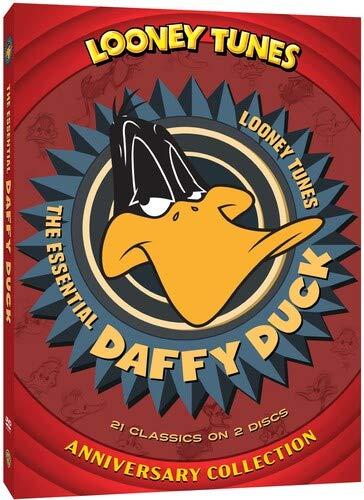 Patch Toppa ricamate Applicazioni Ricamata da cucire adesive 7x6,5cm Toppe termoadesive Looney Tunes Daffy Duck comico bambini nero//arancione