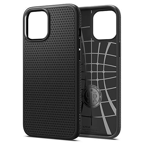 Spigen iPhone 12 Pro Max ケース 6.7インチ 対応 リキッド・エアー 新型…