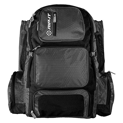 RIP-IT Pack It Up Backpack - Softball Equipment Bag - Charcoal