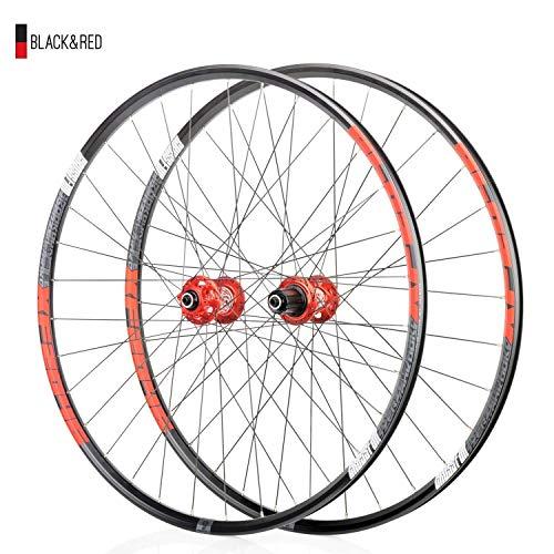 Fahrradrad 26 27,5 29 Zoll Fahrradradsatz MTB doppelwandige Leichtmetallfelge 18,5 mm QR Scheibenbremse vorne und hinten 8 9 10 11 Geschwindigkeit
